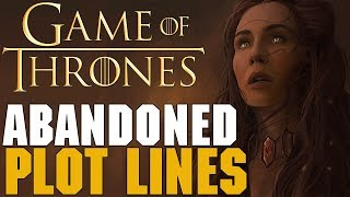 Game of Thrones - Abandoned Plot Lines Part 1