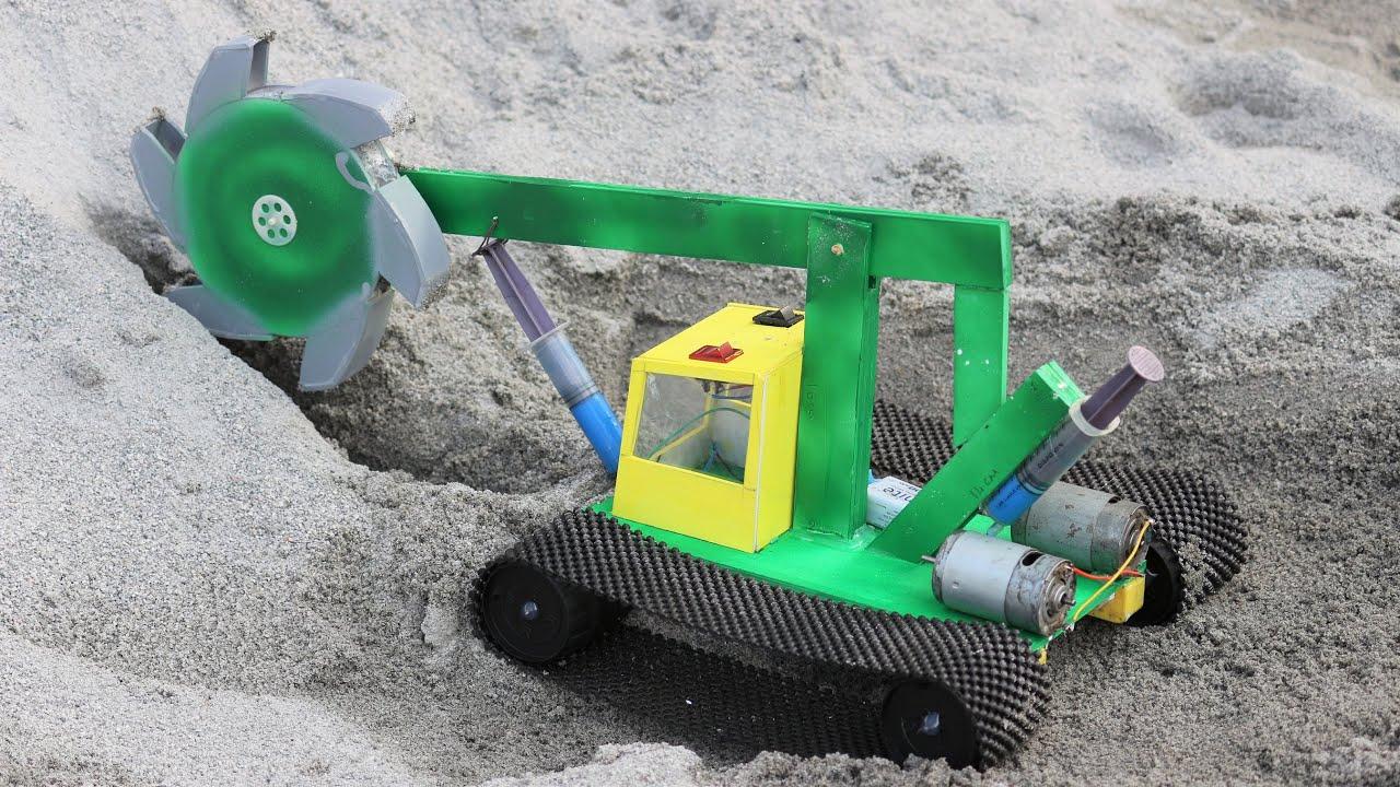 Bucket Wheel Excavator - How to make a Bucket Wheel Excavator
