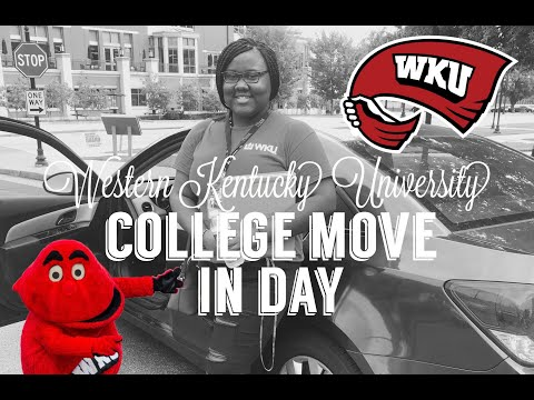 COLLEGE MOVE-IN DAY | WESTERN KENTUCKY UNIVERSITY