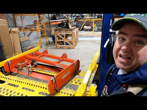 Project Prep! How Long Will It Take??  Deere 1025R, NEW Tufline Land Plane!