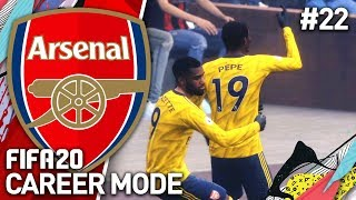 OUR MOST INSANE GAME YET! | FIFA 20 ARSENAL CAREER MODE #22