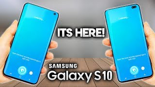 SAMSUNG GALAXY S10 REVEALED!