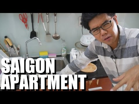 My NEW Apartment in Saigon, Vietnam. DAILY VIETNAM VLOG #7 2016