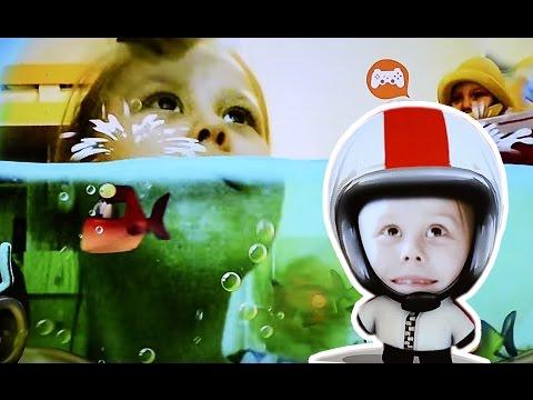 Детский канал. Играем в sony playstation 3 в игру Зажигай PlayStation Move