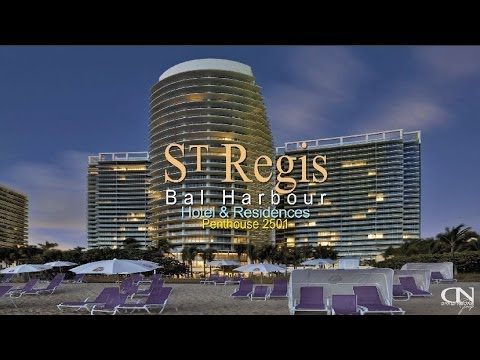 st regis bal harbour penthouse sells for million. Black Bedroom Furniture Sets. Home Design Ideas