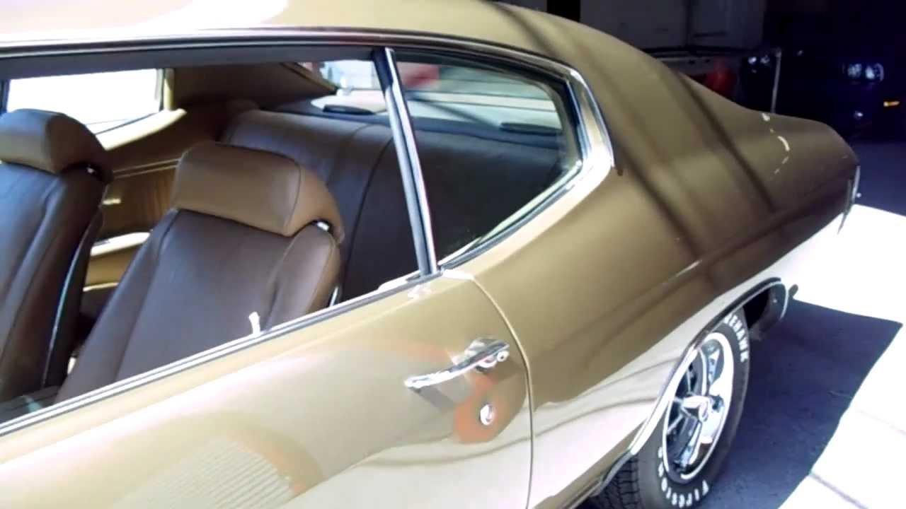 1970 Chevelle SS 454 Big Block~Frame Off Restoration - YouTube