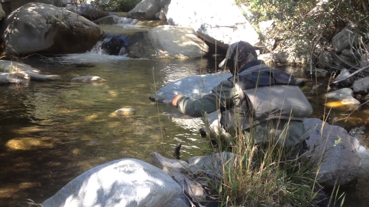 Drew with southern california fly fishing expeditions for Trout fishing southern california