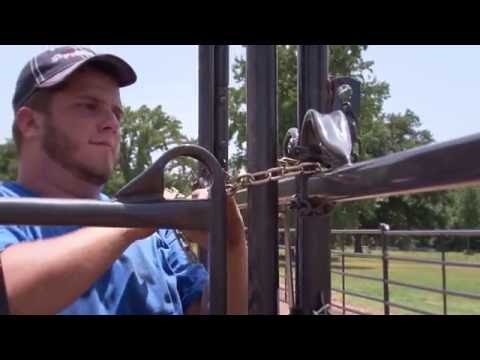 How To Install a Roping Arena