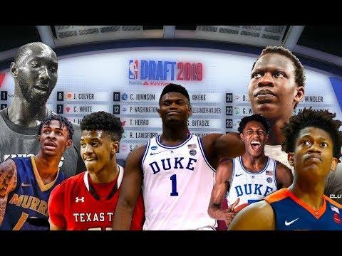 Обзор драфта НБА 2019: выборы, обмены, стилы