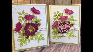 Oh So Eclectic Technique Card Stampin' Up! 2019