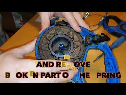 How to repair Retractable Leash DIY