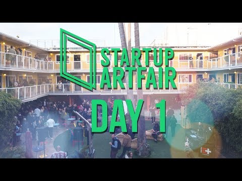 Day 1 - StARTup Art Fair San Francisco 2018