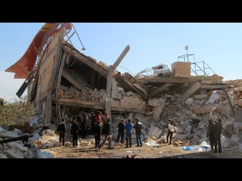 Russian Syrian Airstrikes Destroy Hospitals and School