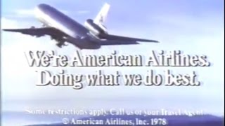 1978 American Airlines Commercial