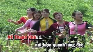 [HD] Karaoke Về Thuận Châu quê em mùa xuân - Xuân Dũng (Karaoke by Kgmnc)