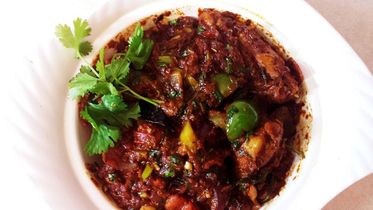 recipe: kadai chicken with capsicum recipe [9]