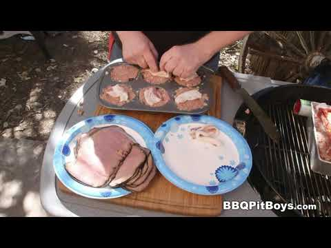 Roast Beef Stuffed Meatloaf recipe by the BBQ Pit Boys