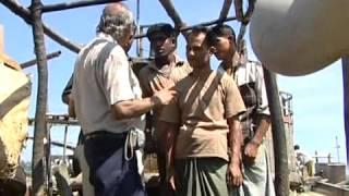 Maintaining marine engines in fishing boats