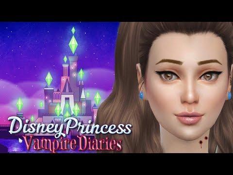 Princess Belle | Sims4 Disney Princess Vampire Diaries Ep 12