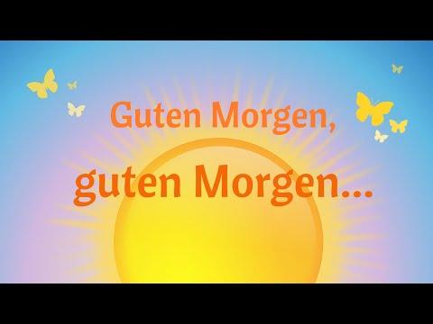 Guten Morgen Morgenkreis Lied Live Mitschnitt Youtube