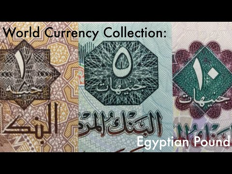 World Currency Collection: Egyptian Pound 🇪🇬