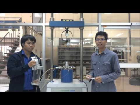 triaxial compression report Calculation of stress and strain from triaxial test data on undrained soil specimens by j q ehrgott  • report title.