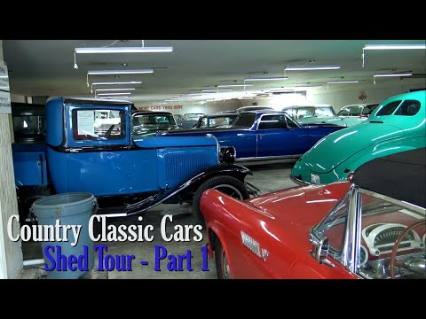 Shed Tour - Country Classic Cars - Part One (2020)