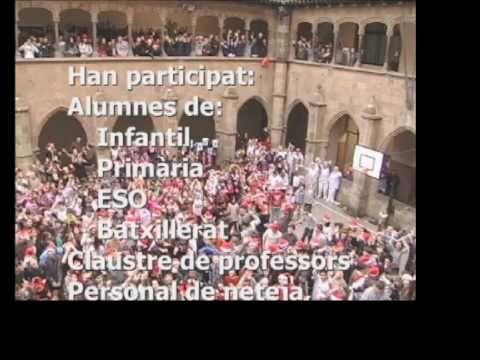 Col·legi Sant Miquel - Lipdub de Bon Nadal (2010)