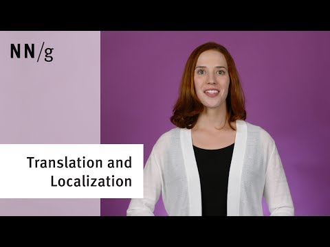 Translation and Localization