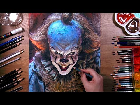 Drawing Pennywise the Dancing Clown | drawholic