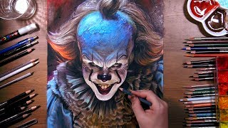 Download lagu Drawing Pennywise the Dancing Clown drawholic
