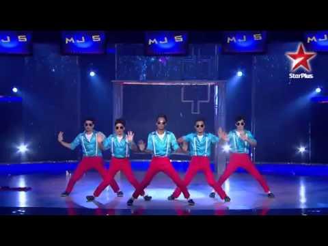 MJ5's wonderful dance performance HD 6th July 2013