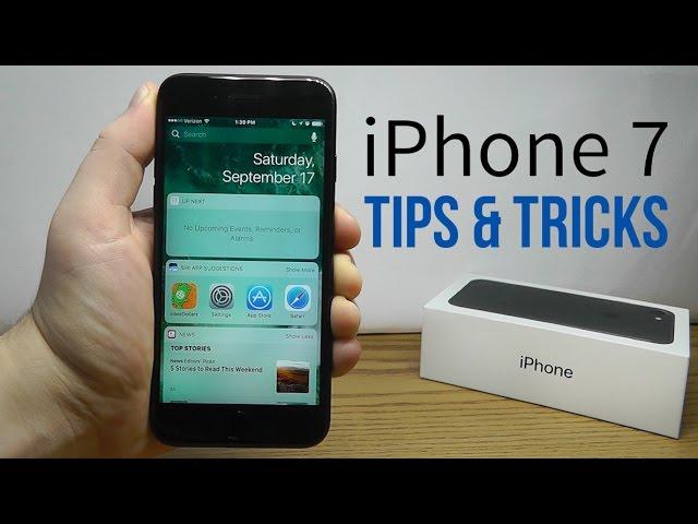 Iphone 7 Tips Tricks Hidden Features Top 25 List Youtube