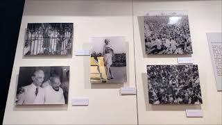 Una muestra en la Casa de la India narra la vida de Gandhi