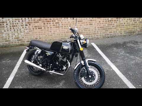 MASH - BLACK SEVEN 125cc - NEW+ 0 MILES + 2 YEAR WARRANTY £2449+OTR