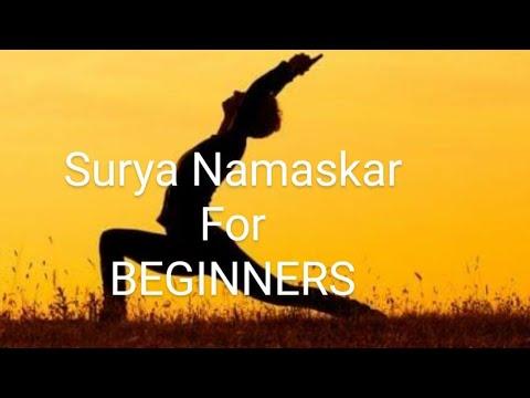 surya namaskar for beginners  all asans explained