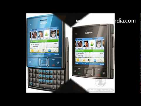 Nokia X5-01 QWERTY Mobile Phone Video Preview
