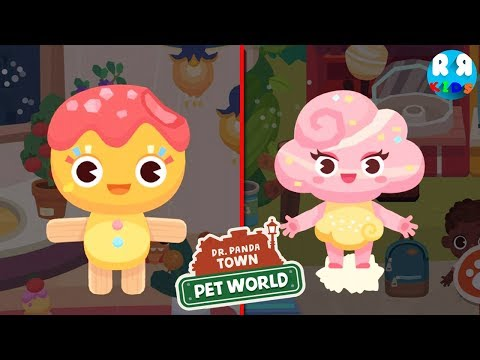 Dr. Panda Town : Pet World - Can You Find The Secret Character in Theme Park??