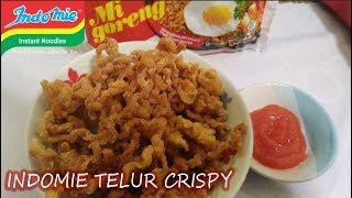 Resep Cara Membuat Indomie Telur Crispy Simpel dan Mudah