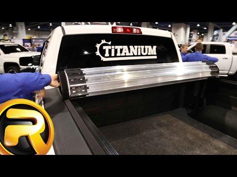 Truxedo Titanium Hard roll up Tonneau Cover