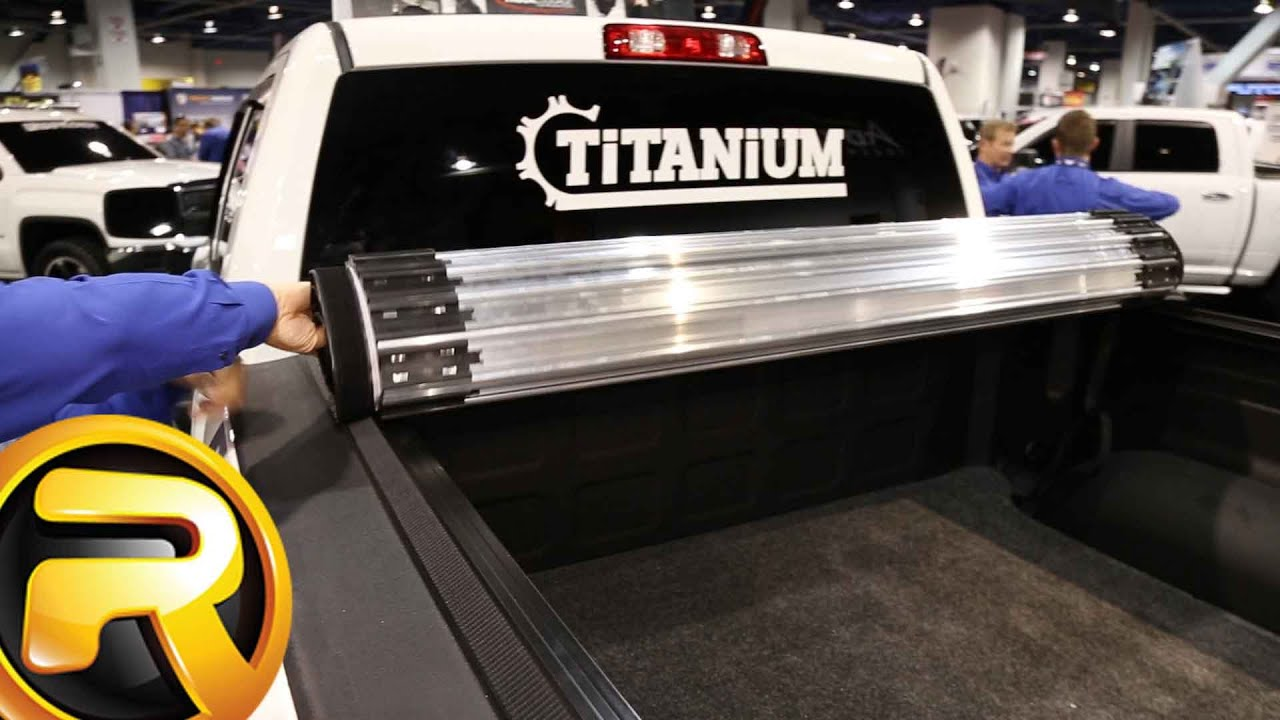 Truxedo Titanium Hard Roll Up Tonneau Cover Youtube