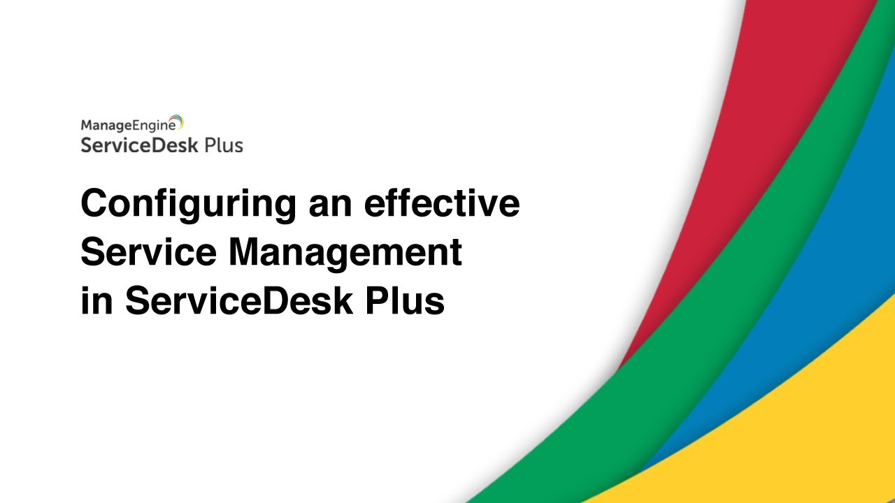 ManageEngine ServiceDesk Plus Overview | QBS Software