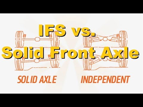 WHY IS IFS SO BAD?! independent Front Suspension VS Solid Front Axle