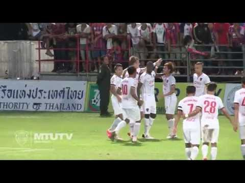 MTUTD.TV Highlight Singhtarua 0 - 4 SCG Muangthong United - Thai Premier League - Round 14