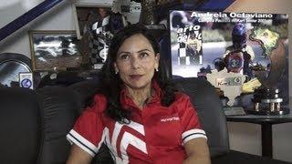 Entrevista com a Piloto de Kart, Andreia Octaviano