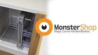 MonsterShop - Kukoo Magic Corner Kitchen Baskets
