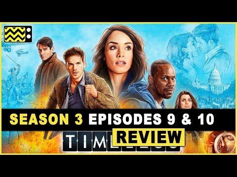 Timeless Season 2 Episodes 9 & 10 Review & Reaction | AfterBuzz TV