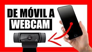 USAR tu MÓVIL como WEBCAM HD por USB o WIFI