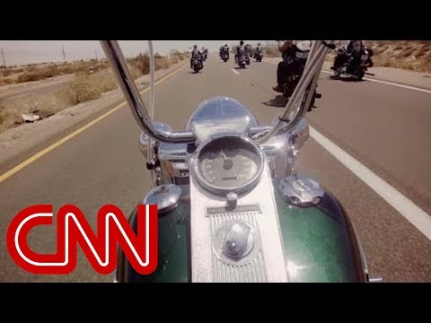 Riding with an outlaw motorcycle club