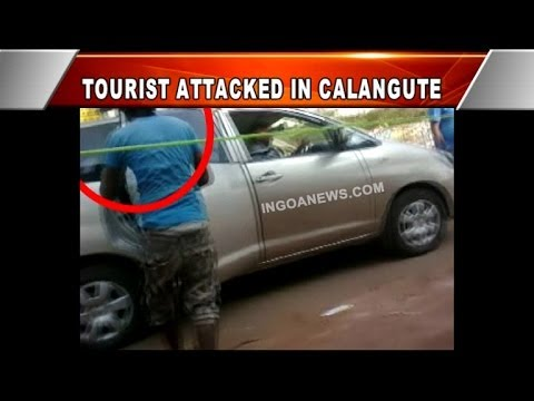 TOURIST ATTACKED IN CALANGUTE